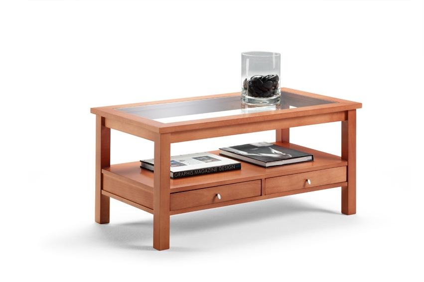 Mesas centro baratas de roble online comprar mesas en - Mesas de salon clasicas ...