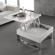 6014004 - mesa de centro blanca -LAMESADECENTRO