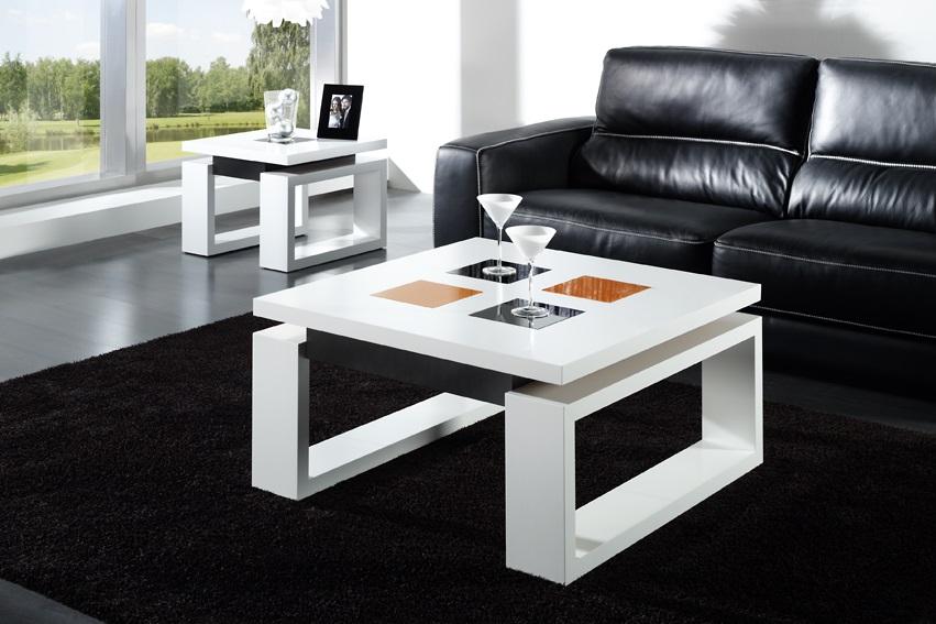Mesas de centro elevables economicas lamesadecentro - Mesas de salon blancas ...