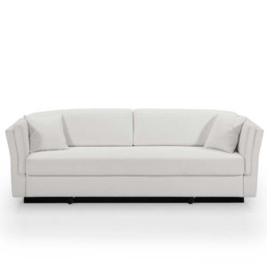 Sofá de diseño, color blanco