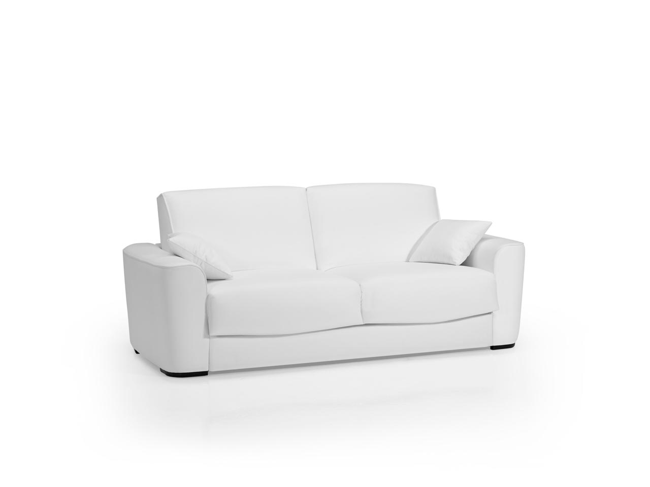 Sof s modernos innovaci n y dise o para su sal n la for Sofa blanco barato