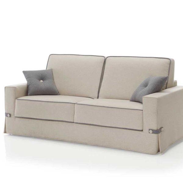 Sofá barato modelo AP016. Color gris.