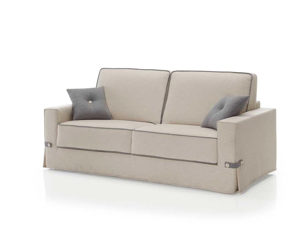 Comprar sofa barato beige y gris online el sof cama for Sofa cama sistema italiano barato