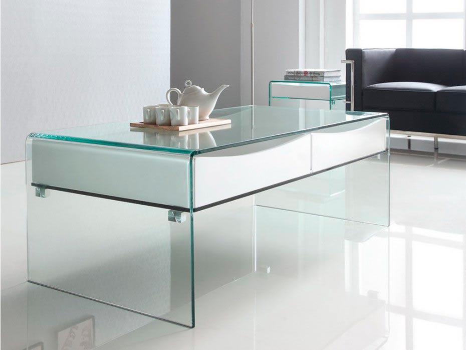 Mesas de centro de cristal comprar online la mesa de centro - Mesas de estudio de cristal ...