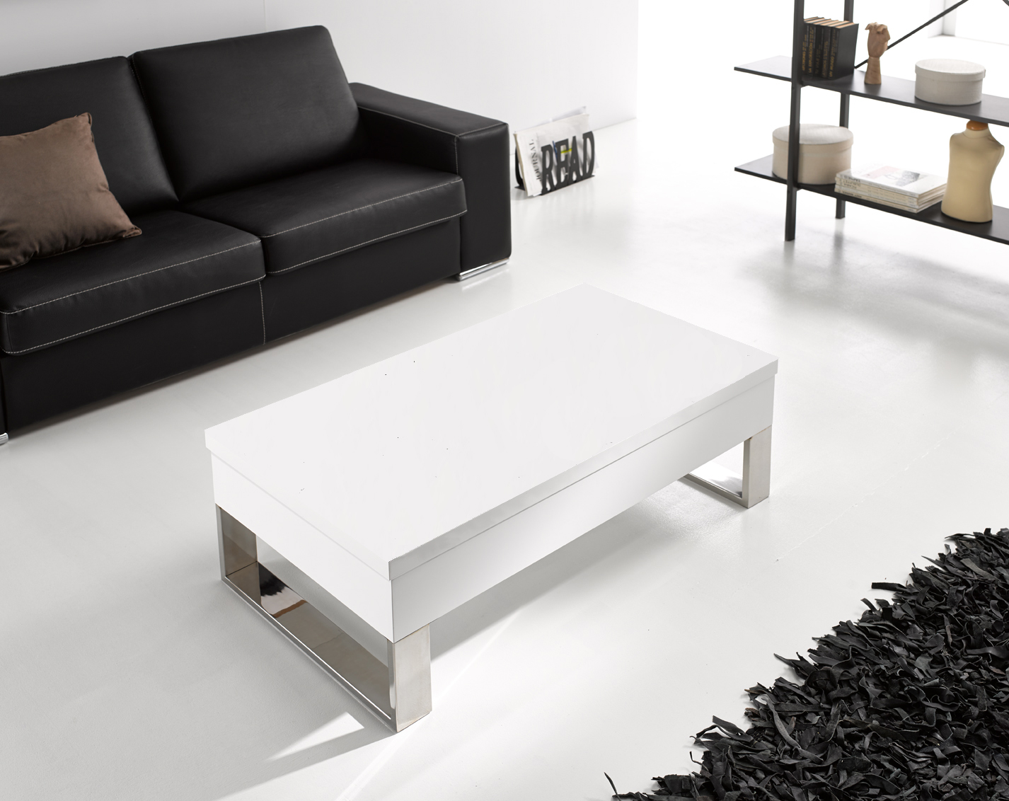 Comprar mesas de centro blancas - Mesa de centro lack ...