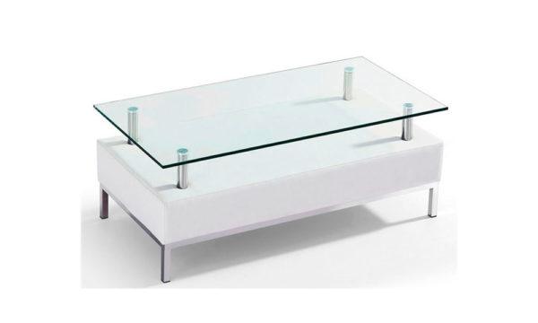 Mesas de centro-blancas