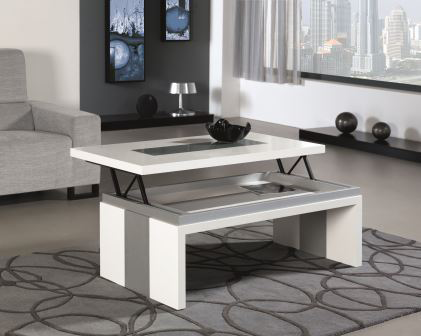 Comprar mesa centro elevable de dise o for Mesas salon plegables diseno