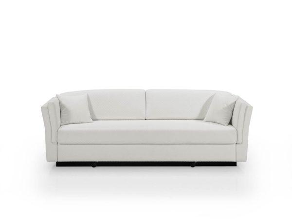 Vista frontal, Sofá cama convertible en litera