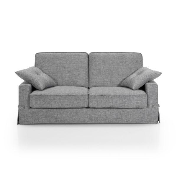 Sofá cama barato, 3 plazas color gris, disponible en otros acabados y colores