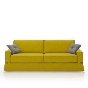Sofá cama 2 plazas, sistema italiano