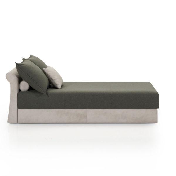 Sofá cama chaise longue 2 plazas, disponible en diferentes colores y acabados