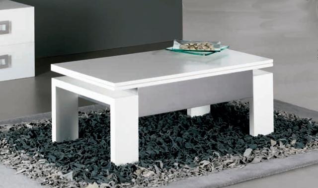 Comprar mesa centro elevable y extensible lamesadecentro - Mesa de centro blanca ...