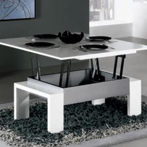 Mesa centro elevable artesanal online lamesadecentro - Mesas centro salon ...