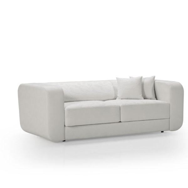 Sofá 3 plazas blanco, disponible en otros colores y acabados