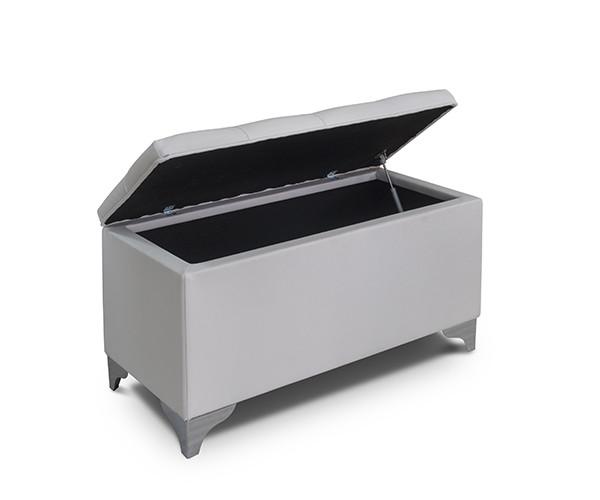 TE002 puff blanco abierto - lamesadecentro
