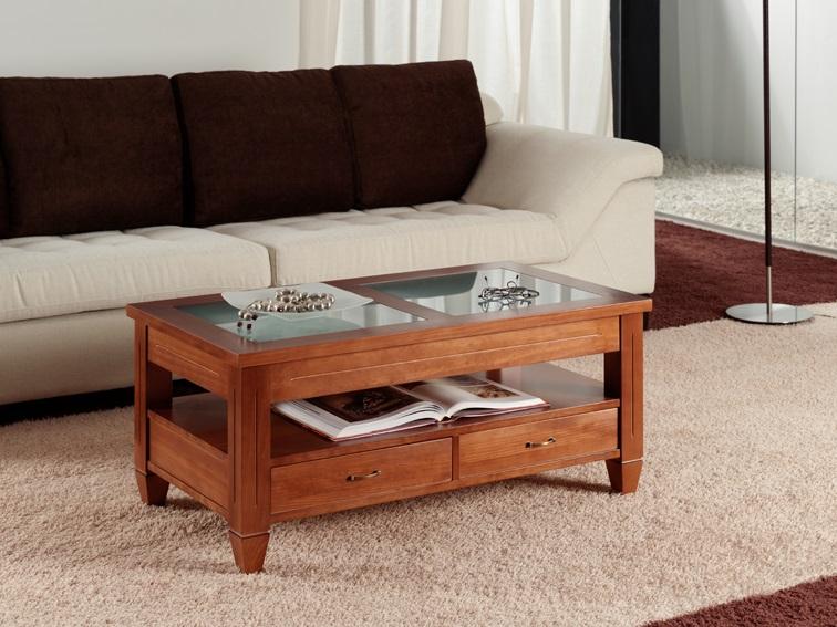 mesa rústica en salones rústicos - lamesadecentro