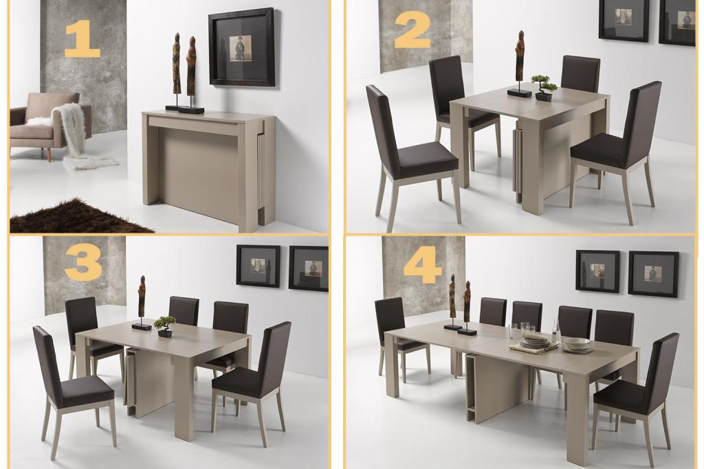 Buscas mesas de sal n te orientamos la mesa de centro for Mesa consola extensible ikea