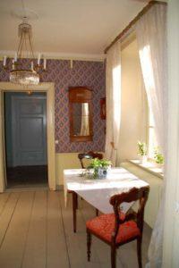 Casa señorial, decoración estilo vintage