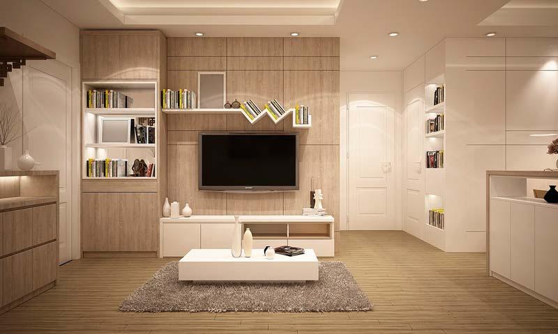 Salón de estar moderno y minimalista, Últimas tendencias en decoración