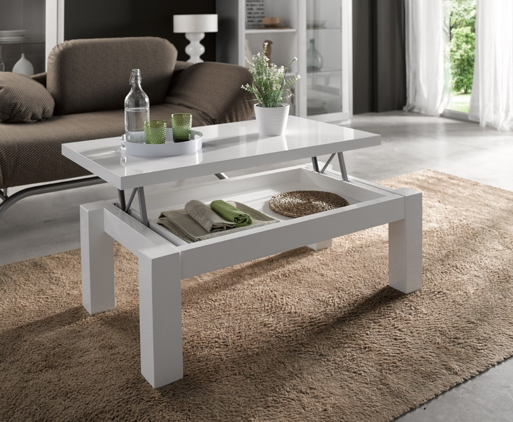 Ideas para decorar un sal n en verano la mesa de centro - Mesa de centro de salon ...