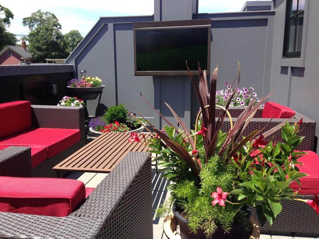 mesa de cento terraza verano - La Mesa de Centro