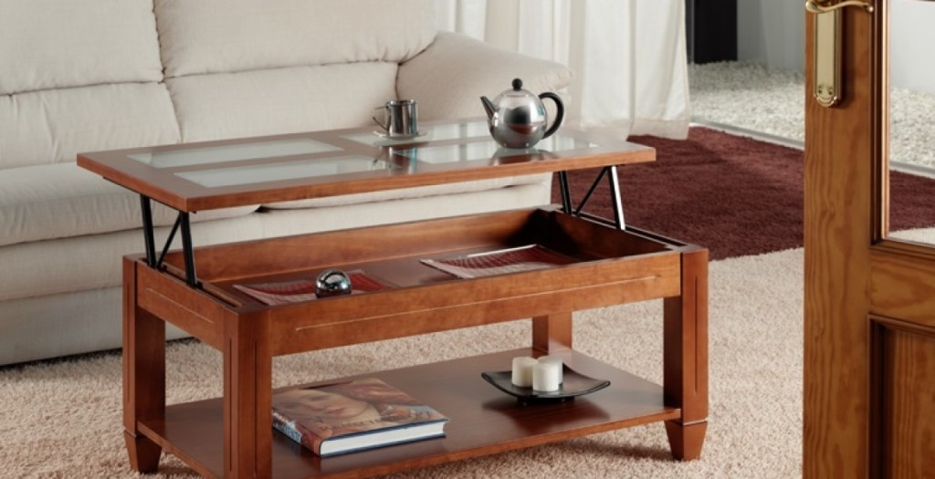 mesa de centro té - la mesa de centro