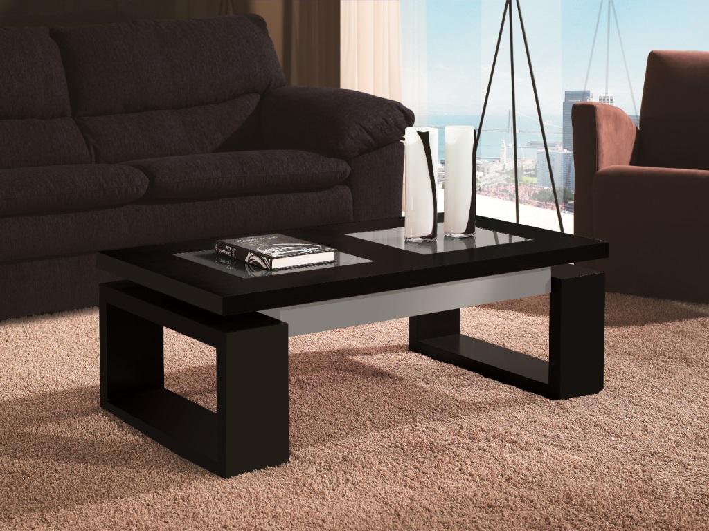 Mesas de centro negras m s que elegancia la mesa de centro for Mesa de centro blanca