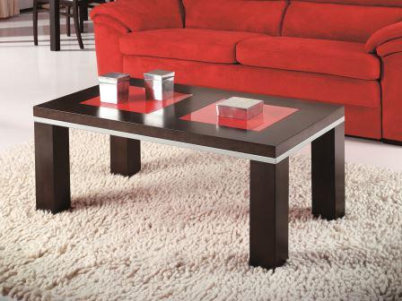 mesas de centro rojas - lamesadecentro
