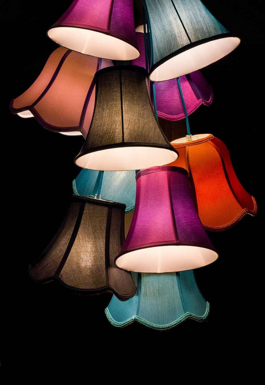 Decoración con luz - lamesaddecentro