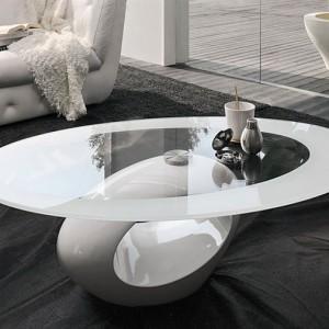 Mesa centro diseño blanca BON001 - La Mesa de Centro (2)