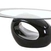 Mesa centro diseño negra BON001 - Mesa de Centro