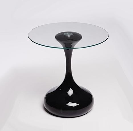 Mesas auxiliares de diseño negro DRO001 - La Mesa de Centro