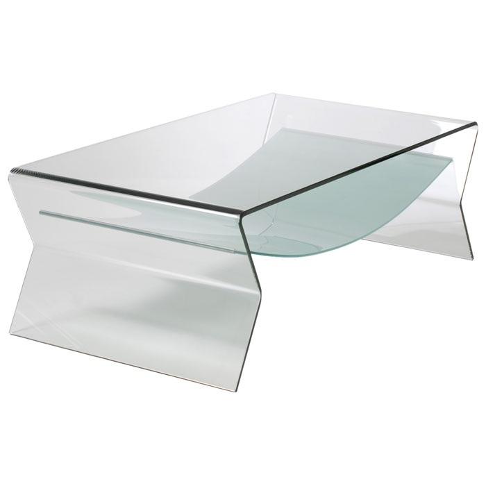 Mesas auxiliares de salon de cristal online la mesa de for Mesas para salon