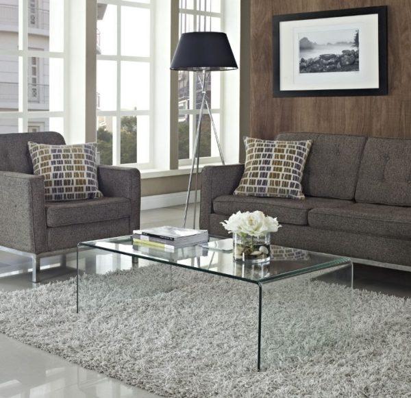 Mesas bajas cristal - mesa de centro