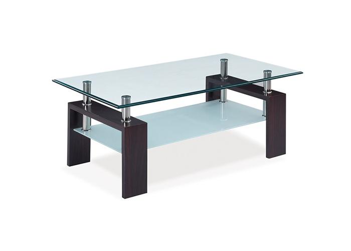 Mesas bajas de salon online color blanco o wengu la - Mesa de centro de salon ...