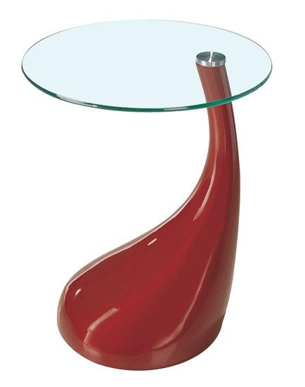 Mesas de diseño roja PEA001 - La mesa de centro