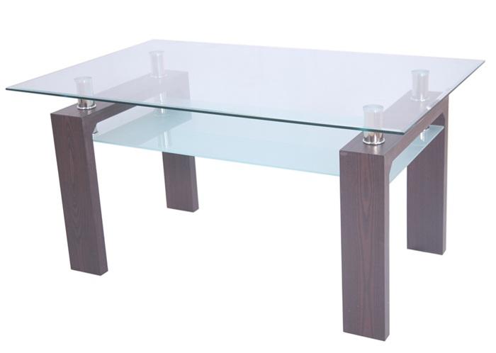 mesa de dise o blanca de madera y cristal la mesa de centro