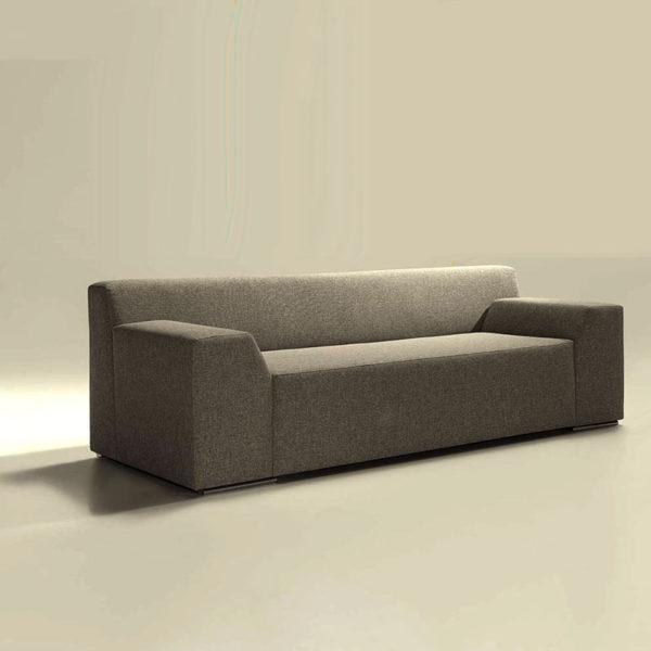 Sofá cama color gris