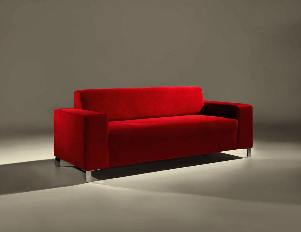 Sof s de dise o en color rojo la mesa de centro - Disenos de sofas ...