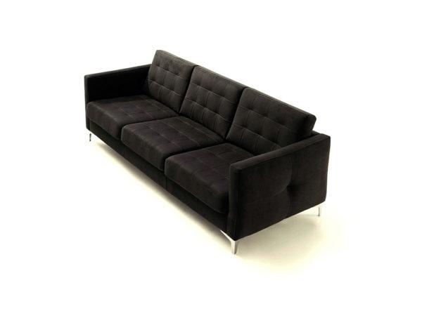 Sofá vintage 3 plazas, disponible en diferentes colores y acabados