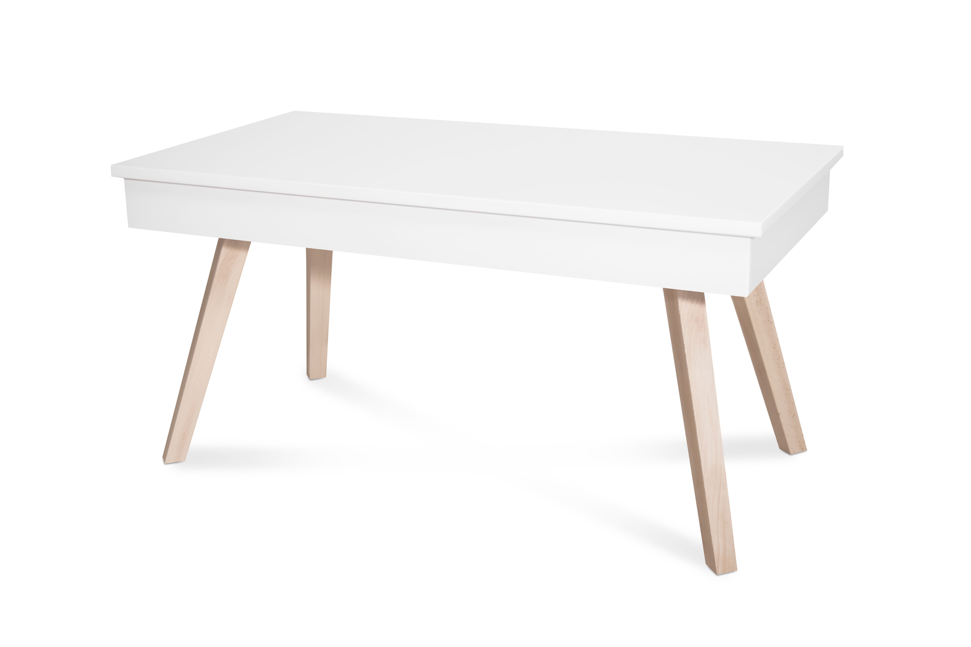 Mesa de centro elevable blanca tienda online de mesas de - Mesa de centro lack ...