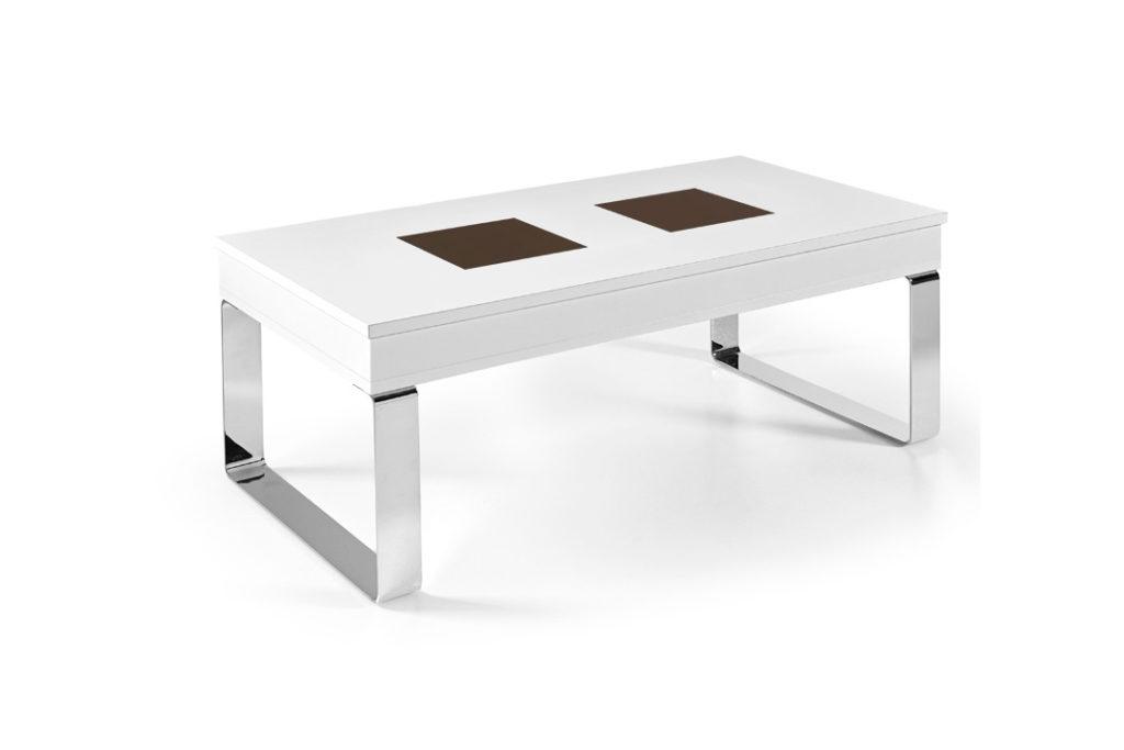 Mesa de centro con patas met licas estilo n rdico mesas for Mesas estilo nordico baratas