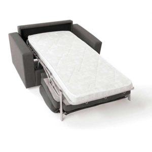 Sillón cama, sistema de apertura