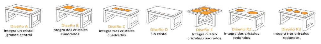 Diseño mesas de centro