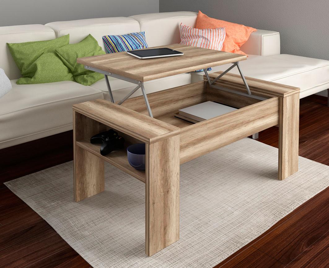 Mesas de centro elevables econ micas and001 la mesa de - Centro navideno de mesa ...