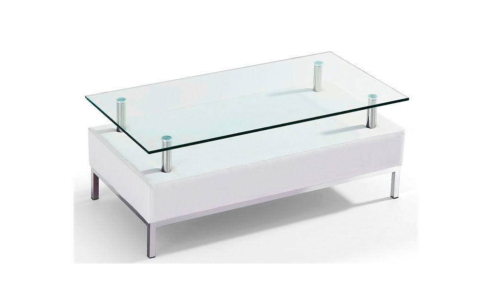Comprar mesas de centro blancas online la mesa de centro for Mesas de salon blancas