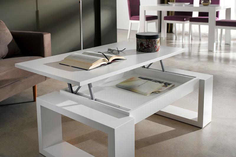 Mesas de centro elevables una estupenda opci n para tu sal n - Mesas de centro salon ...