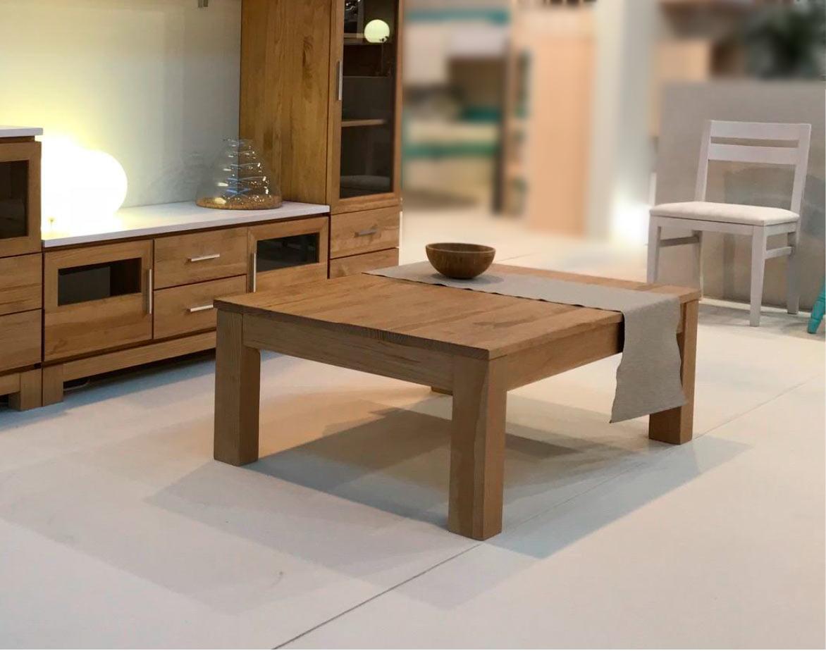 Mesas de centro de madera maciza de pino de alta calidad online - Mesas de centro salon ...