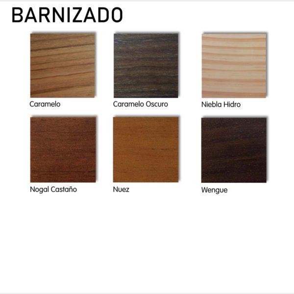 barnizados acabado maderas