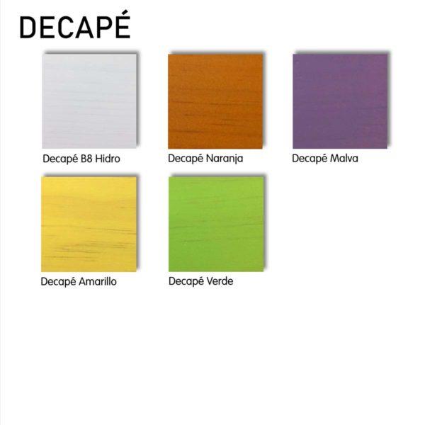 colores acabado decape